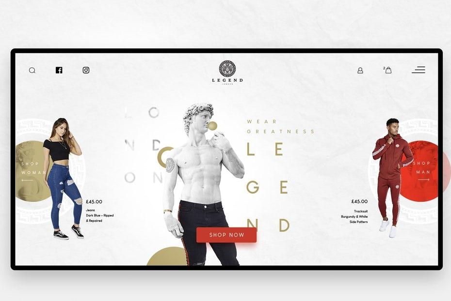 Fotografie web design 2