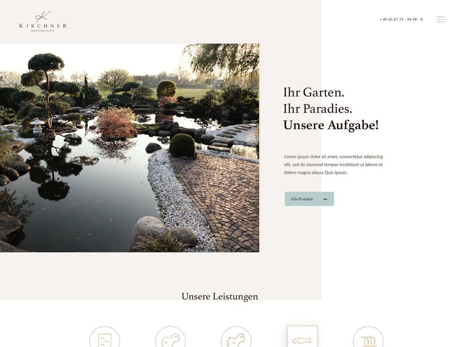 Witruimte web design