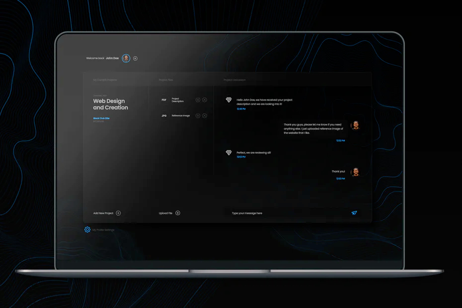 dark mode web design 1